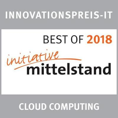 Best of Mittelstand 2018 Cloud Computing