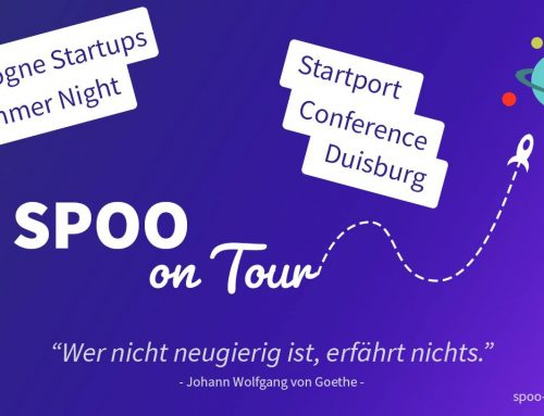 SPOO on Tour in der Startup Community